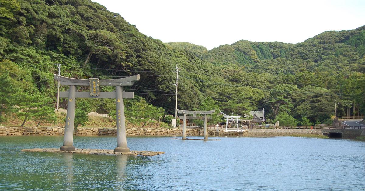 歴史観光(和多都美神社)
