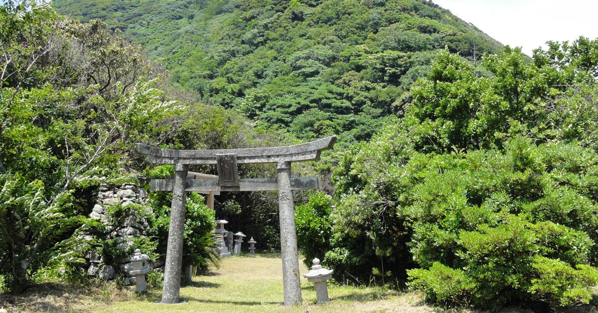 対馬の神社一覧(上県町)