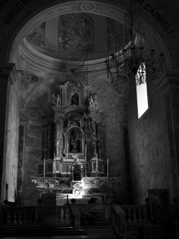 Carmine church, Bosa