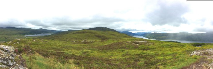 view from Ullapool hill