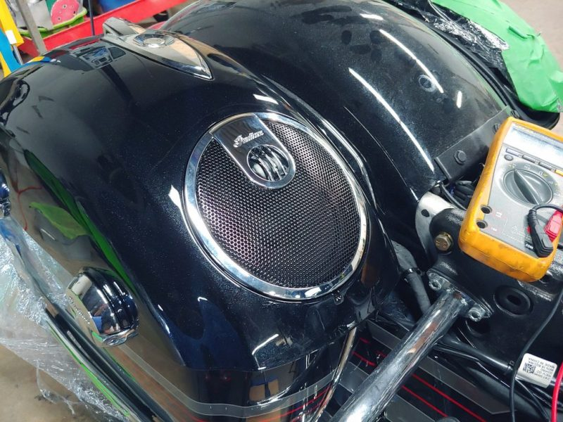 Indian Chieftain saddlebag speakers