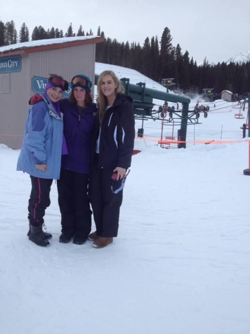 Learning to ski at Bridger Bowl, MT