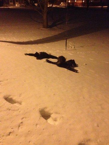 Snow Angels! Bozeman, MT