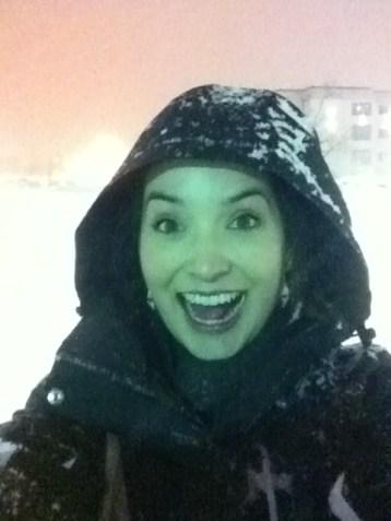 Getting caught in random snowstorms wasn't unusual. MT