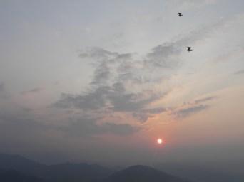 Gyrocopters over Sarangkot