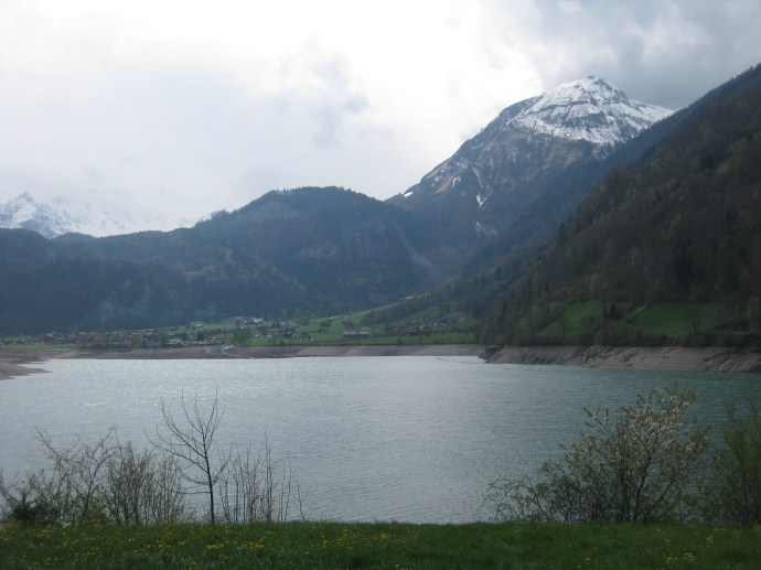 First Swiss pit-stop