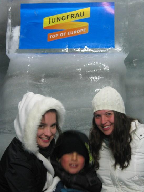 Siblings at Jungfrau