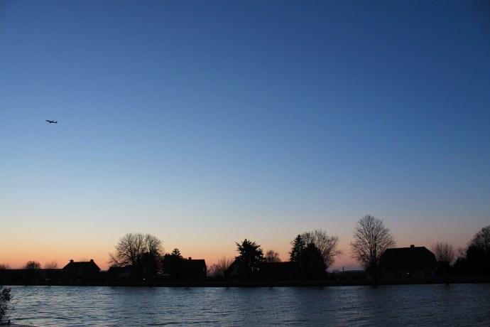9am sunrise at De Kwakel