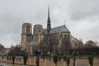Notre Dame from the East