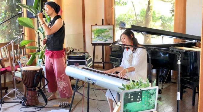 20190831奈良生駒山ロアジス|植物音楽に触れよう『大地の音楽祭』