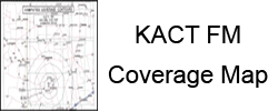 KACT FM Coverage Map