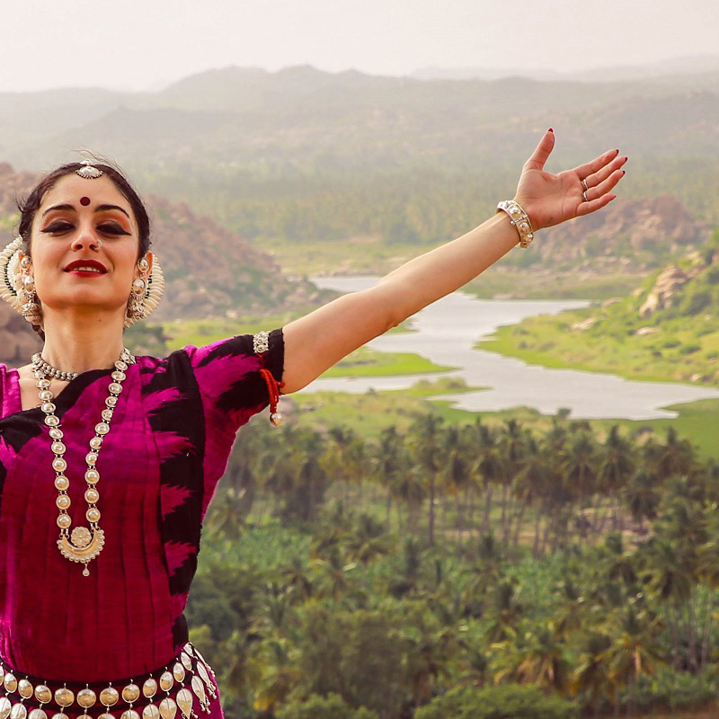 Odissi Dancer - Elena Catalano