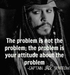 captain sparrow quote about problems