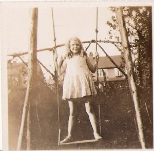 Eileen Stead as a young girl