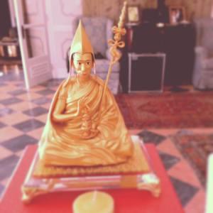 statue of Geshe Kelsang Gyatso