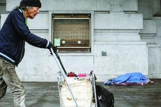 homeless senior