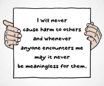 Shantideva quote never harm others