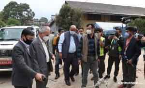 सांसद अपहरण काण्डमा जाहेरी लिन मानेन काठमाण्डौ प्रहरी परिसर