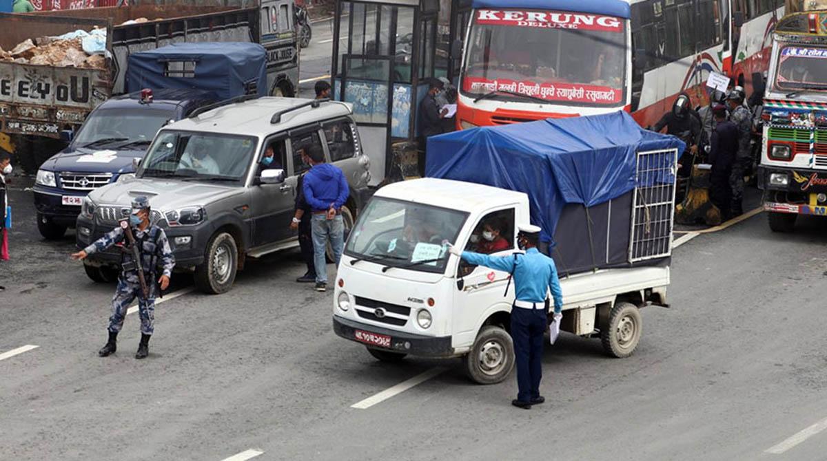 काठमाण्डौं उपत्यका भित्रिने र बाहिरीनेमाथि थप कडाई हुने