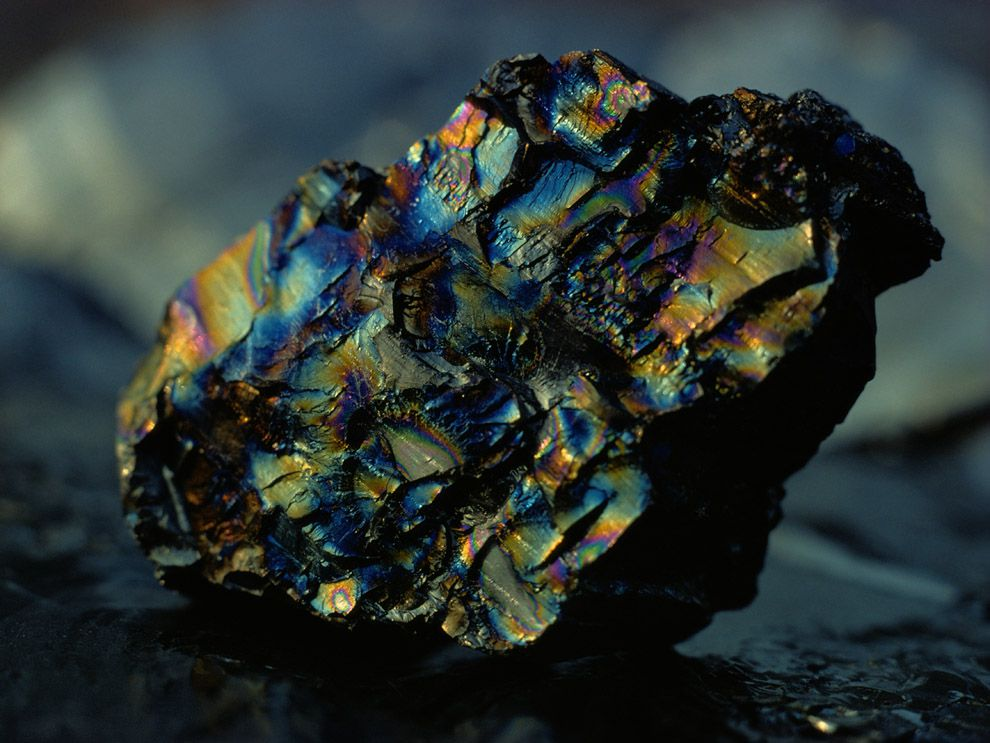 Shining Objects might be caused from Minerals and Decaying Objects