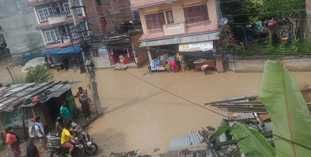 New incidents in Kathmandu