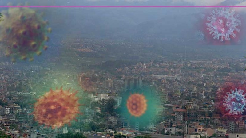 काठमाडौं उपत्यकामा ३९७२ जनामा कोरोना भाइरस संक्रमण पुष्टि
