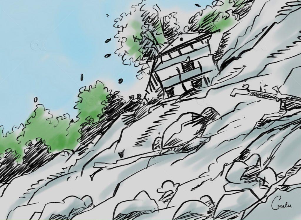 स्याङ्जाका दुई स्थानमा पहिरो जाँदा दुई जनाको मृत्यु भएको छ भने ८ जना बेपत्ता