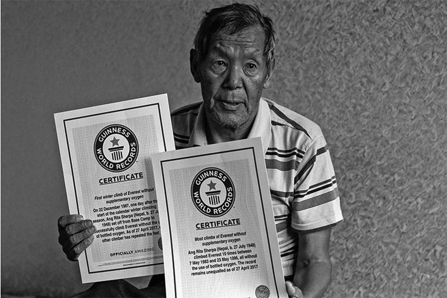 पर्वतारोही हिम चितुवा आङरिता शेर्पाको निधन