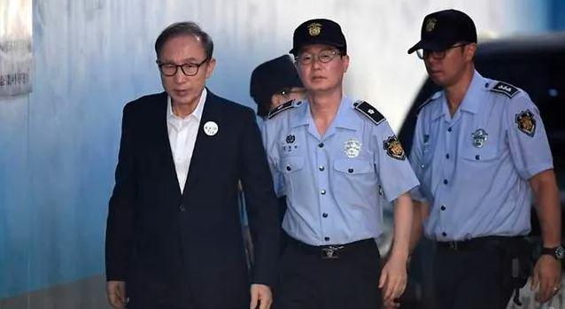 कोरियाली पूर्व राष्ट्रपति ली म्युङ–वाकलाई सर्वोच्च अदालतद्धारा १७ वर्ष जेल सजाय