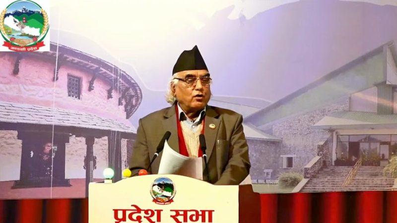 गण्डकीमा प्रदेशको मुख्यमन्त्रीमा कांग्रेसका कृष्णचन्द्र नेपाली पोखरेल नियुक्त