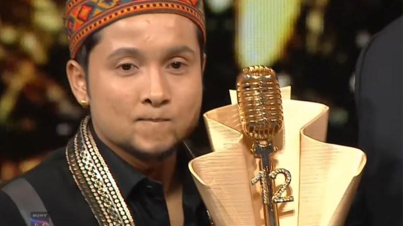 १२ औं संस्करणको गायन रियालिटी शो इन्डियन आइडलको उपाधि पवनदीप राजनले जिते