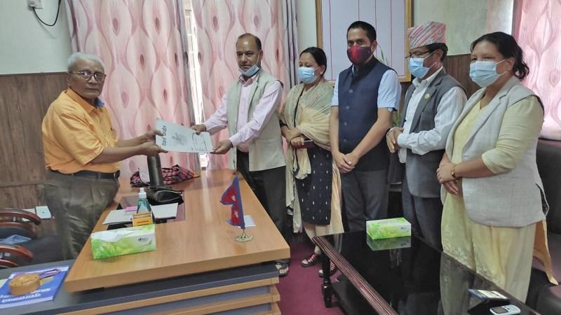 अविश्वास प्रस्तावमाथि छलफल गर्न लुम्बिनी प्रदेशसभाको विशेष अधिवेशन माग