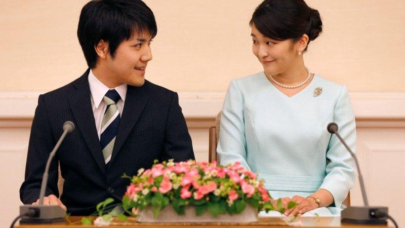 जापानी राजकुमारी माकोले आफ्ना प्रेमीसँग विवाह