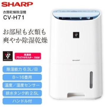 CV-H71 口コミ