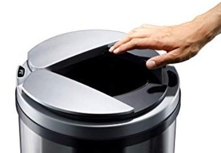 自動開閉ゴミ箱ZitA(ジータ)の口コミ!臭いやサイズについても