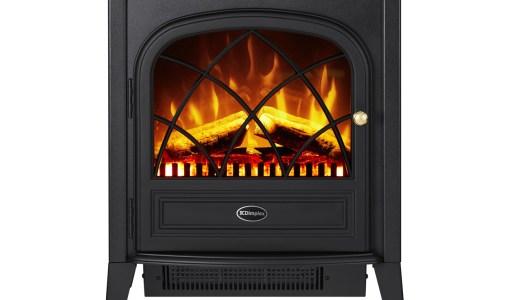 おしゃれでリアルな炎に癒される!Dimplex 電気暖炉リッツの口コミ。