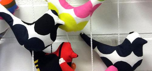 tekstiilituotteet kädenjälki myymälä