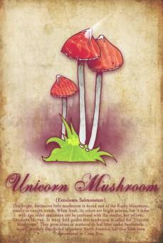 Unicorn Mushroom