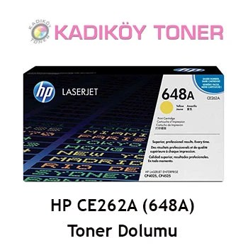 HP CE262A (648A) Laser Toner