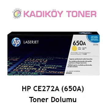 HP CE272A (650A) Laser Toner