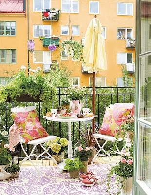 en güzel balkon dekorasyon fikirleri