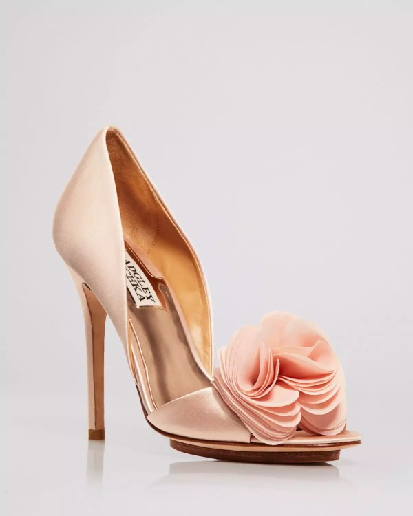 Badgley Mischka Blossom Evening Pumps