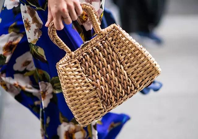 hasır çanta