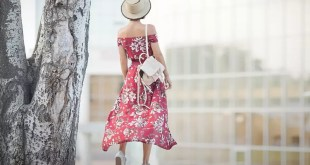 çiçekli maxi elbise