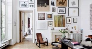 tablolarla duvar dekorasyonu