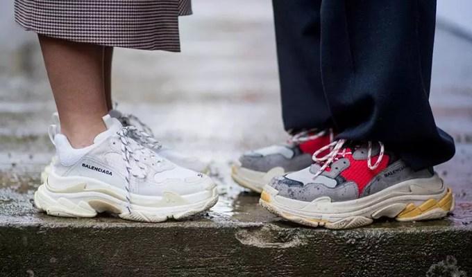 çirkin sneaker