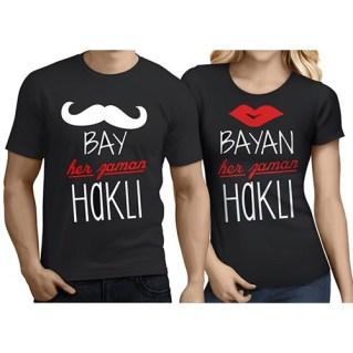 çiftler için tişört modelleri