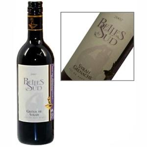 Belles du Sud franse rode wijn