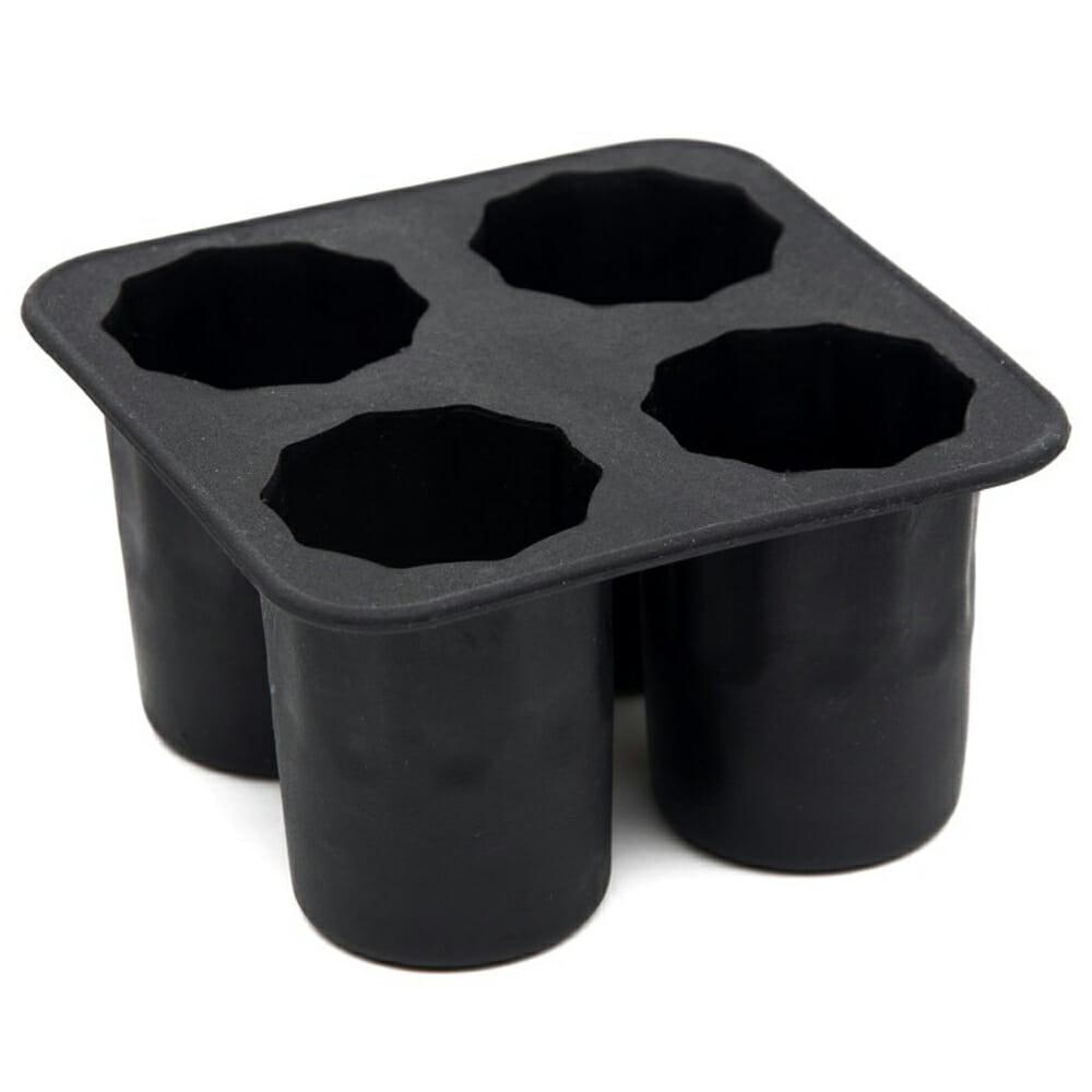 Shotglaasjes van ijs - Zwart