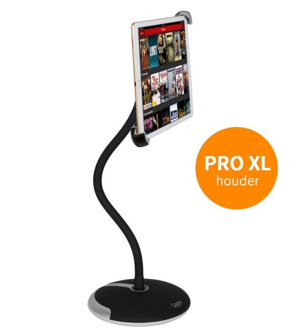 TABLET HOUDER MET VOET + KLEM voor PRO-XL iPad en tablets 9 t/m 14 inch